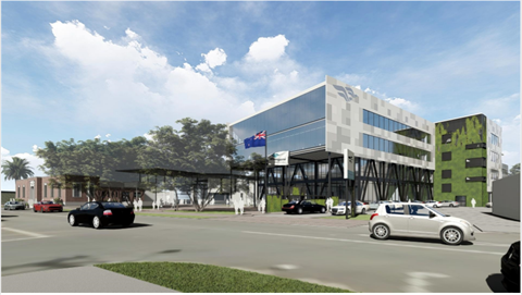 Whangarei new civic building preliminary design